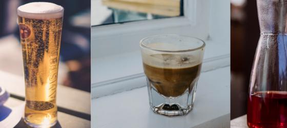 Koffie en bier